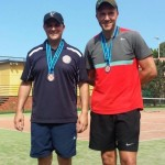 2015 NSW Police Games Bronze Medal winners Ben Finch and Josh Arnold