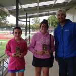 Jane (winner), Bianca Golding (Runner Up) and Stu, 13 yrs girls