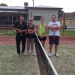 A Grade Club Championships Mixed Doubles Finals