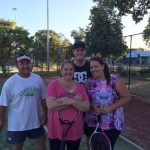 B Grade Mixed Doubles Club Championship Finals
